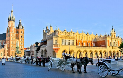 Main Square, Krakow Old Town