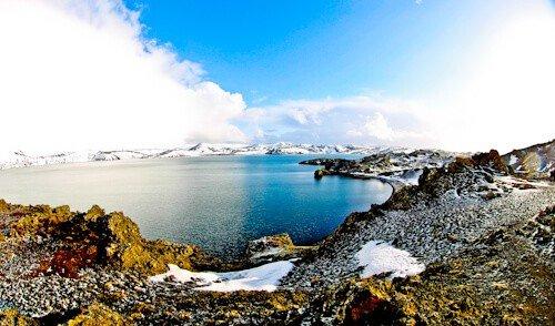 Kleifarvatn Lake, Iceland