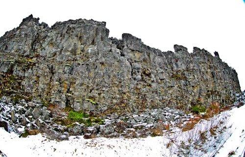 Almannagjá fault, Þingvellir, Iceland