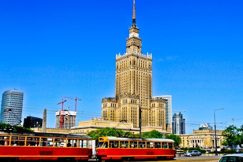 Palace of Culture and Science, Warsaw