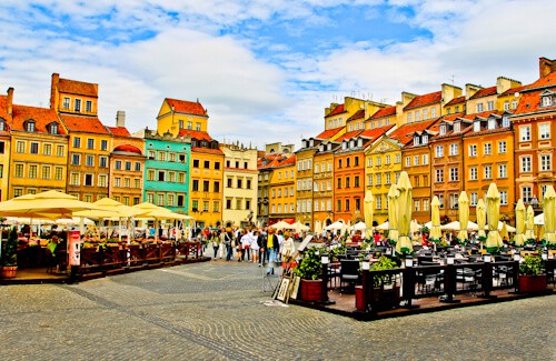 Old Town Market Place, Warsaw
