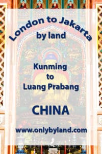 A visit to the points of interest of Kunming, China before taking the overnight bus to Luang Prabang, Laos