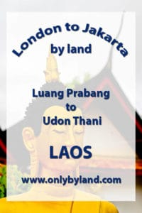 A visit to the points of interest of Luang Prabang including the Royal Palace, Mount Phousi (and view of the city), Boat ride on the Mekong River, Sakkaline Road the main street, Wat Xieng, Thong Wat Mai Suwannaphumaham and Wat Sen before taking the overnight bus to Vientiane and Udon Thani