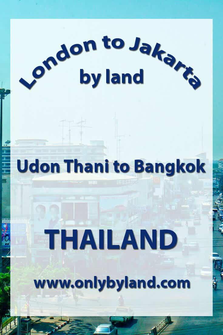 Udon Thani to Bangkok