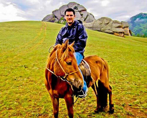 Horse Riding, Gorkhi - Terelj National Park, Mongolia