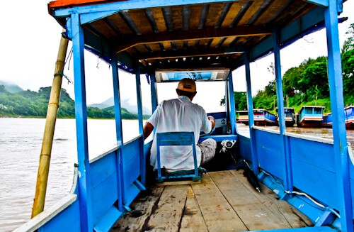 Boat of the Mekong River, Luang Prabang