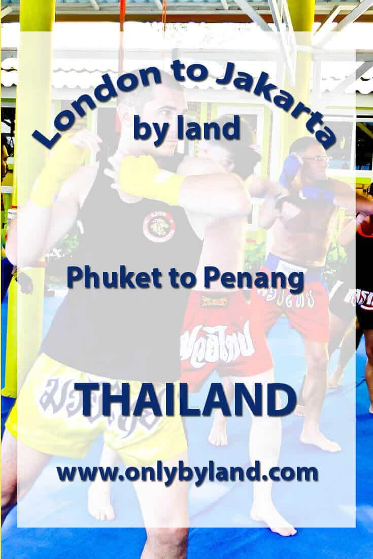 Phuket to Penang