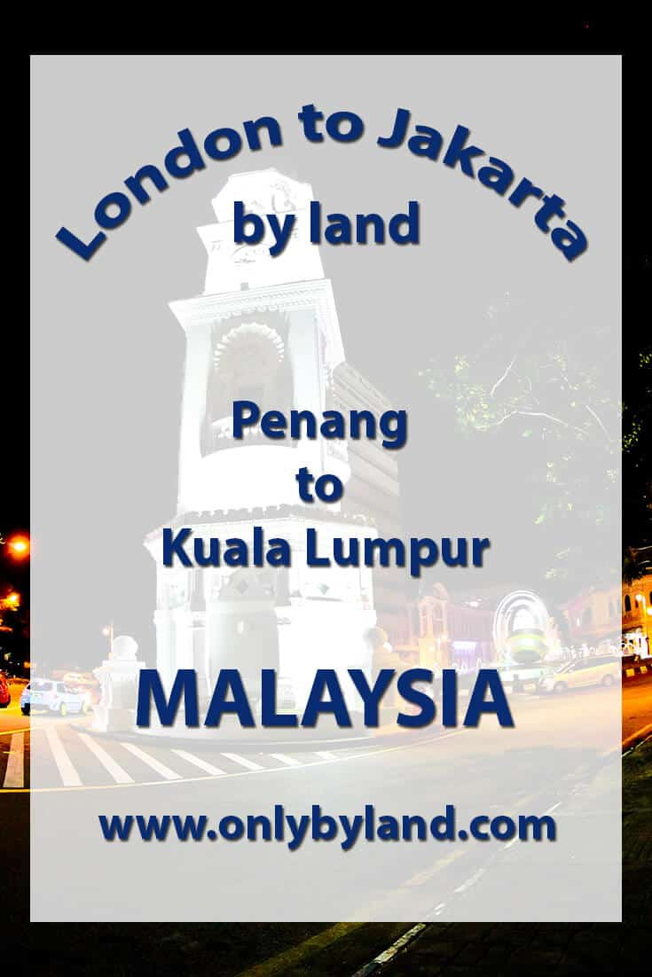 Penang to Kuala Lumpur