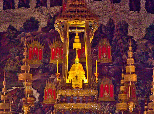 The Emerald Buddha, Bangkok