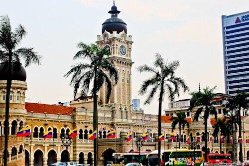Sultan Abdul Samad Building, Merdeka Square, Kuala Lumpur