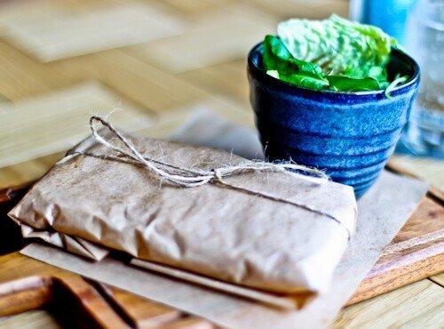 The Lock Kitchen & Bar, Leeds - Panini and salad
