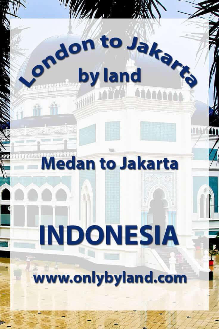 Medan to Jakarta via Lake Toba