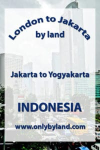 A visit to the points of interest of Jakarta including National Monument(and view of the city), Merdeka Square, Merdeka Palace, Istiqlal Mosque, St. Mary of the Assumption Cathedral, Jakarta, Jakarta History Museum, National Museum of Indonesia, Wayang Museum Taman, Mini Indonesia Indah before taking the bus to Yogyakarta, Indonesia