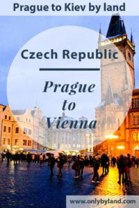 Prague to Vienna by Bus