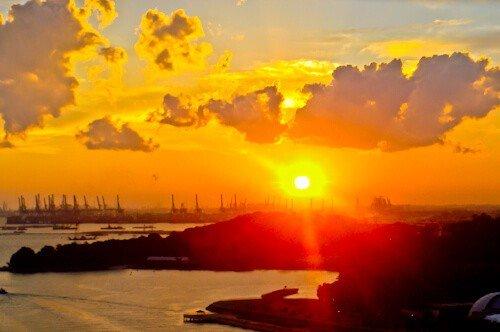 Sunset, Singapore