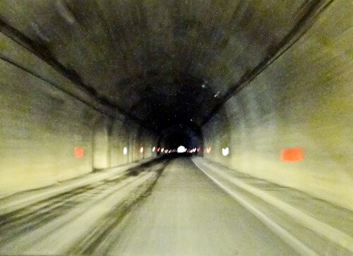 The Transfagarasan Tunnel