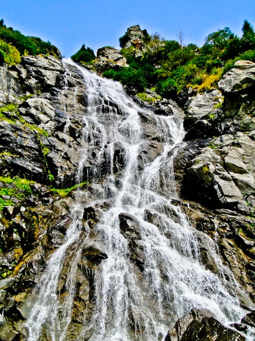 Balea Waterfall, Transfara mountains, Transfagarasan mountains, Romania