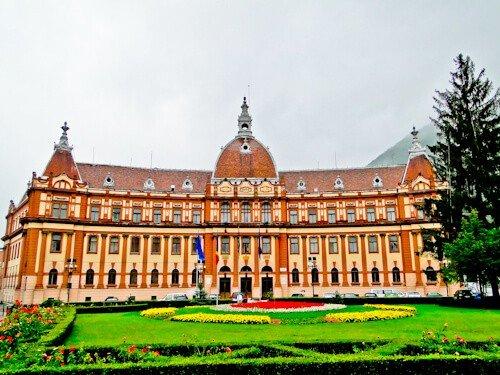 New Town Hall, Brasov, Romania