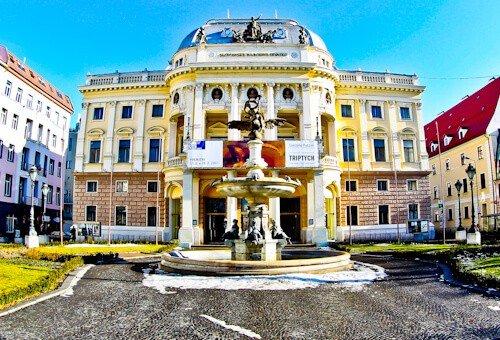 Slovak National Theater, Bratislava, Slovakia