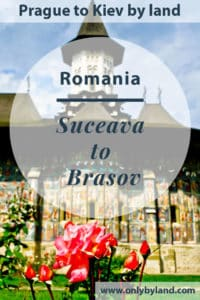 A visit to Suceava and the Painted monasteries including Voronet Monastery, Abore Monastery, Moldovita Monastery, Sucevița Monastery, Humor Monastery, Putna Monastery before taking the bus to Brasov