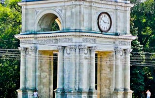 Arc De Triomphe, Chisinau, Moldova