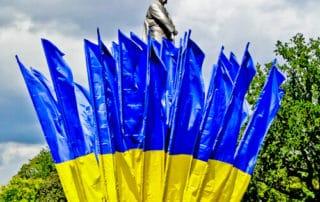 Former Lenin Statue, Freedom Square, Kharkiv, Ukraine