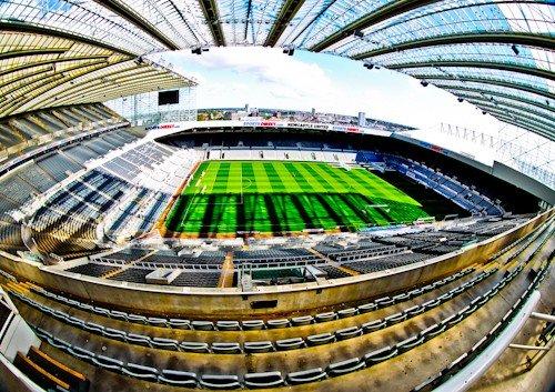 St James' Park, Newcastle United, tour al Estadio