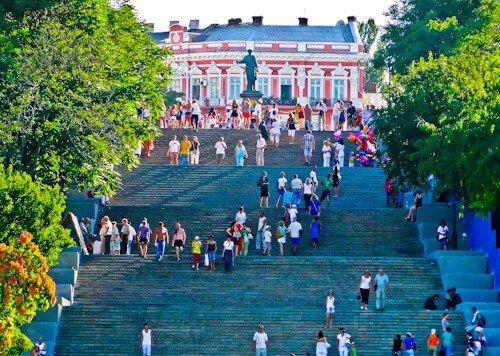 Stairs, Odessa, Ukraine