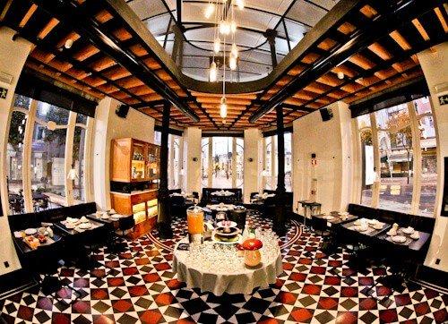 1908 Lisboa Hotel, Breakfast buffet