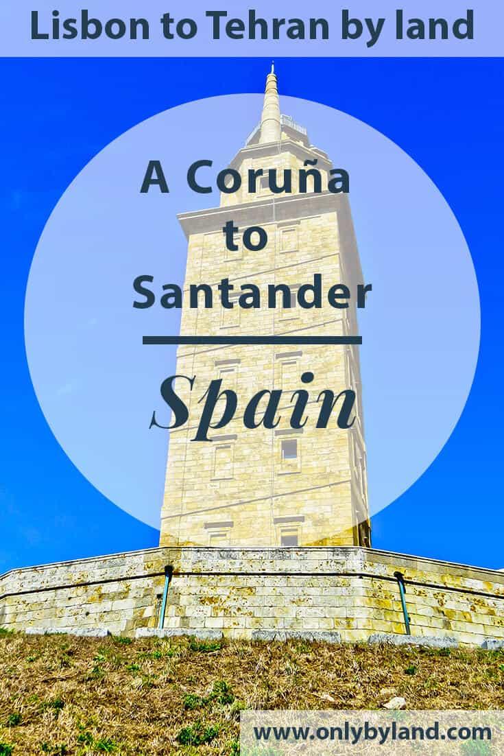 A Coruña to Santander by bus