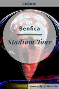 A tour of the Benfica stadium, Estadio da Luz. During the tour you visit the dressing rooms, various pitch side views, the famous Benfica eagles and the museum.