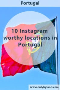A list of Instagram worthy locations in Portugal. Interesting subjects to photograph in Portugal are the colorful houses, castles, palaces, architecture, azulejos, cobbled streets and beaches. Instagram locations included on the list are Sintra, Porto, Lisbon, Tavira and the Algarve