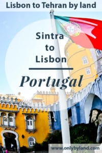 What to see and photograph in Sintra including Pena Palace, Castle of the Moors, Sintra Town, Sintra Palace, Quinta da Regaleira, Monserrate Palace, Cabo da Roca, before taking the train to Lisbon.