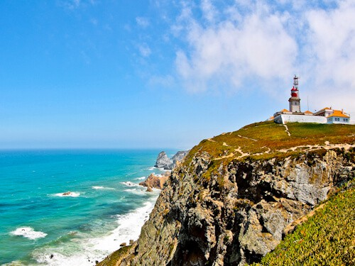 Cabo da Roca, most western point of Europe