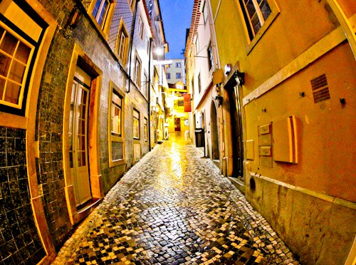 The streets of Sintra, Portugal