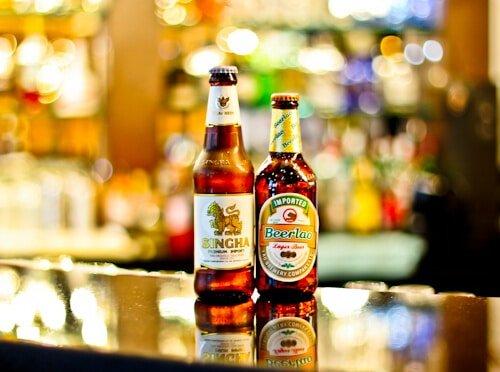 Sukhothai Leeds City Centre, Bar service, Thai Beer