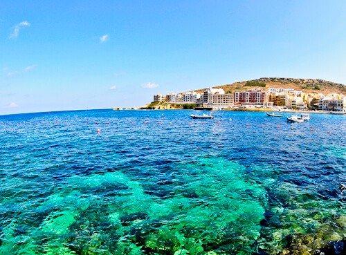 Marsalfon Bay, Gozo Malta