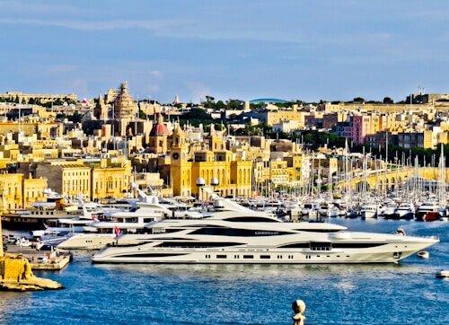 Grand Harbor View from Valletta, Malta