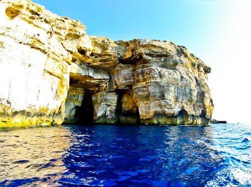 Azure Window (after) - Gozo Malta