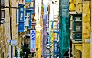 The Streets of Valletta, Malta