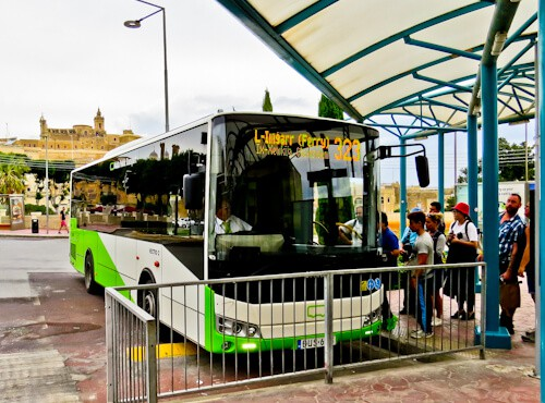 Bus and ferry from Malta to Gozo