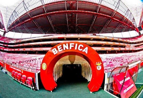 Benfica Stadium Tour - Estadio da Luz players tunnel