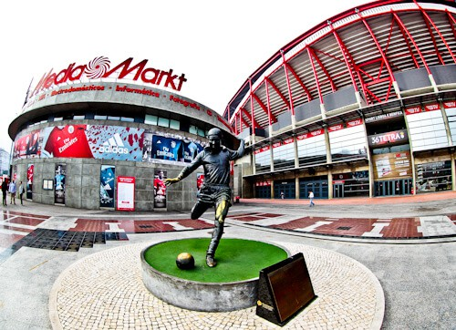 Benfica stadium tour, Estadio da Luz, Club shop