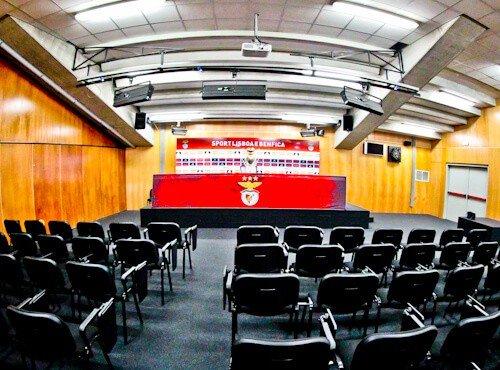Benfica stadium tour, Estadio da Luz, press room