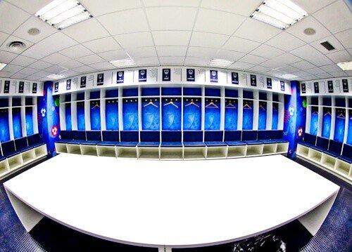 Bordeaux Matmut Atlantique Stadium Tour - home team dressing room