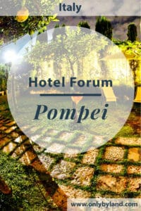 Hotel Forum is a hotel in Pompei. It's the perfect place to stay whilst visiting ancient Pompeii, Mount Vesuvius, Naples and the Amalfi Coast.