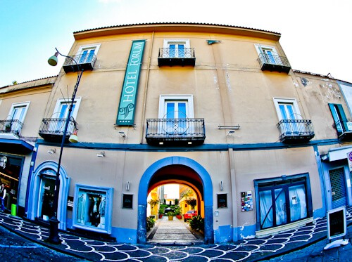 Hotel Forum Pompei - location