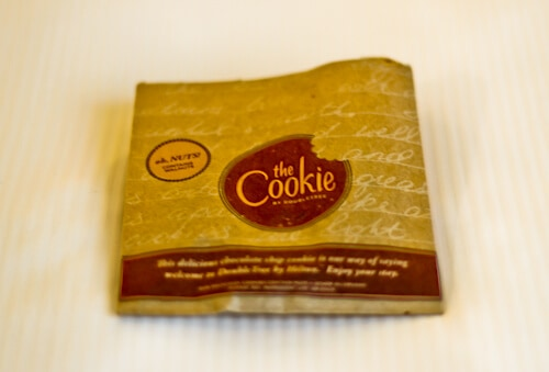 DoubleTree Hilton Milan, Welcome cookie