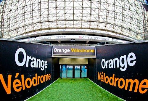 Olympique de Marseille, Orange Velodrome, Stadium tour, players tunnel