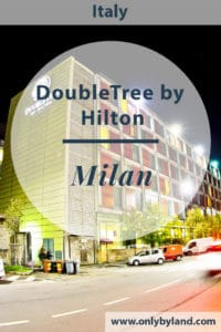 The DoubleTree by Hilton Milan is the perfect hotel to stay.  If you are visiting on business there are many meeting and conference rooms and the internet is super fast.  If you are visiting for pleasure there is a free shuttle to the metro where you can reach many of the cities tourist attractions including the Duomo.